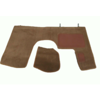 thumb-Front carpet brown with foam Citroën ID/DS-1