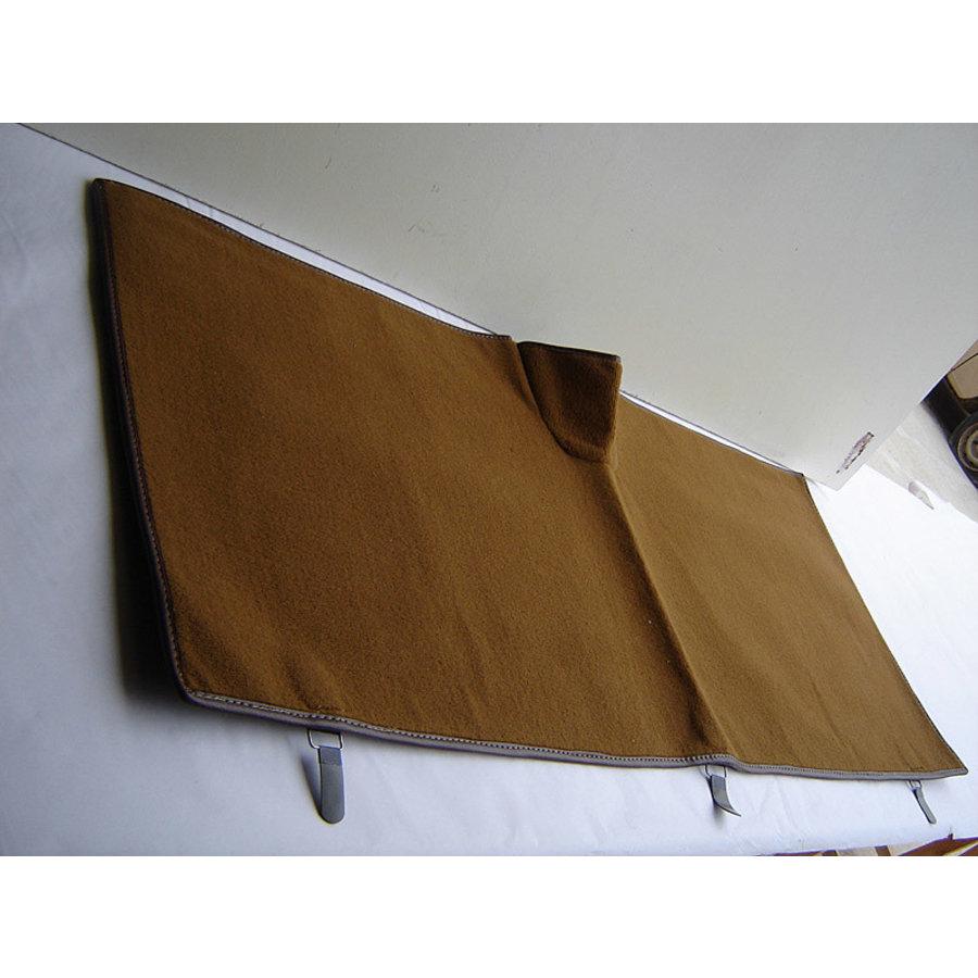 Rear carpet brown without foam Citroën ID/DS-1