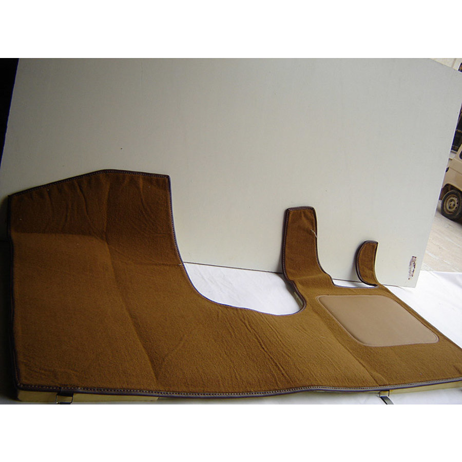 Front carpet brown RHD with foam Citroën ID/DS-1