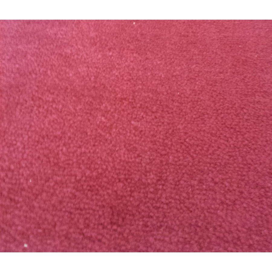 Bodenmatte vorne rot Originalreplikat (Pallas) mit Bezug für Pedalboden mit Schaum Citroën ID/DS-3