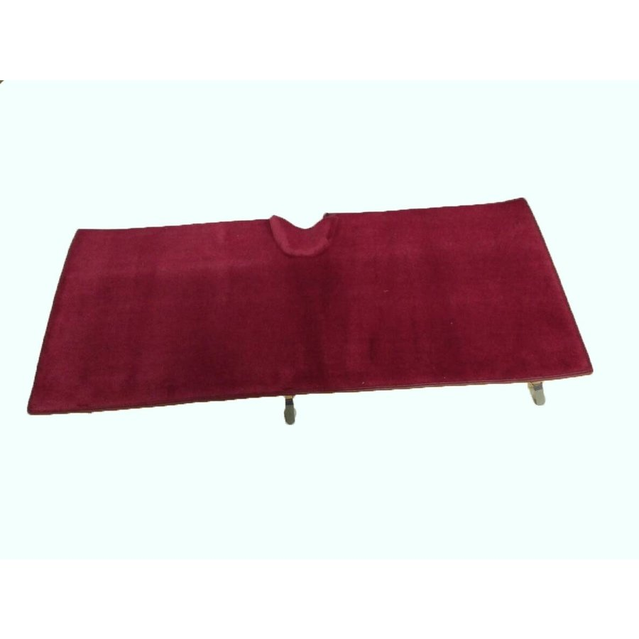 Rear carpet red with foam Citroën ID/DS-2