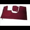 ID/DS Bodenmatte vorne rotOriginalreplikat(Pallas) mit Bezug für Pedalboden ohne Schaum Citroën ID/DS
