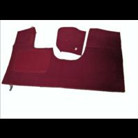 thumb-Bodenmatte vorne rotOriginalreplikat(Pallas) mit Bezug für Pedalboden ohne Schaum Citroën ID/DS-2