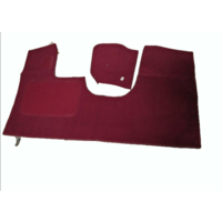 thumb-Front carpet red without foam Citroën ID/DS-2