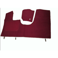 thumb-Front carpet red without foam Citroën ID/DS-4