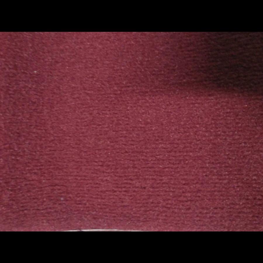 Bodenmatte vorne rotOriginalreplikat(Pallas) mit Bezug für Pedalboden ohne Schaum Citroën ID/DS-6