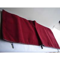 Bodenmatte hinten rot Originalreplikat (Pallas) ohne Schaum Citroën ID/DS