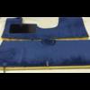 ID/DS Vollständiger Bodenbezug Satz blau (mechanisch/hydraulisch/mit Einspritzung) mit Schaum Citroën ID/DS