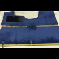 thumb-Vollständiger Bodenbezug Satz blau (mechanisch/hydraulisch/mit Einspritzung) mit Schaum Citroën ID/DS-1