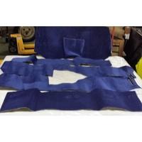 thumb-Vollständiger Bodenbezug Satz blau (mechanisch/hydraulisch/mit Einspritzung) mit Schaum Citroën ID/DS-5