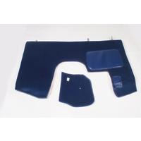 thumb-Bodenmatte vorne blau Originalreplikat (Pallas) mit Bezug für Pedalboden mit Schaum Citroën ID/DS-4