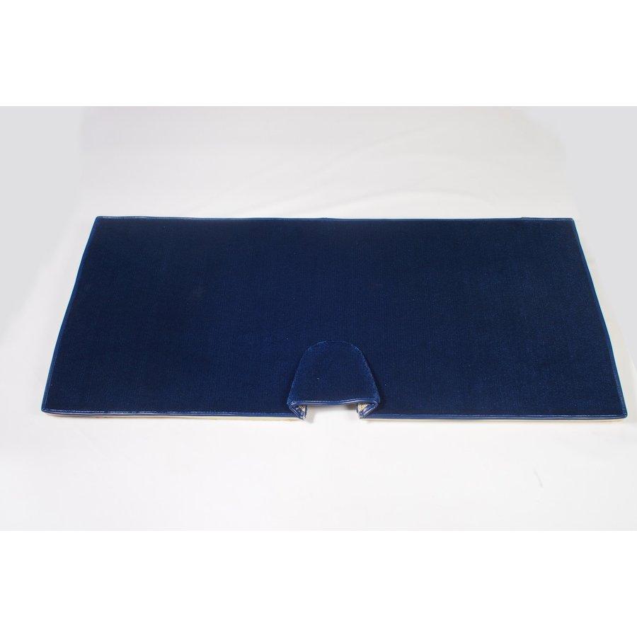 Achtermat blauw met schuim Citroën ID/DS-3