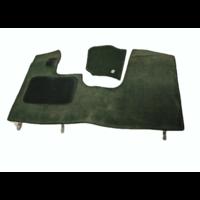 thumb-Bodenmatte vorne grün Originalreplikat (Pallas) mit Bezug für Pedalboden mit Schaum Citroën ID/DS-6
