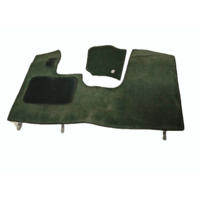 thumb-Front carpet green with foam Citroën ID/DS-6