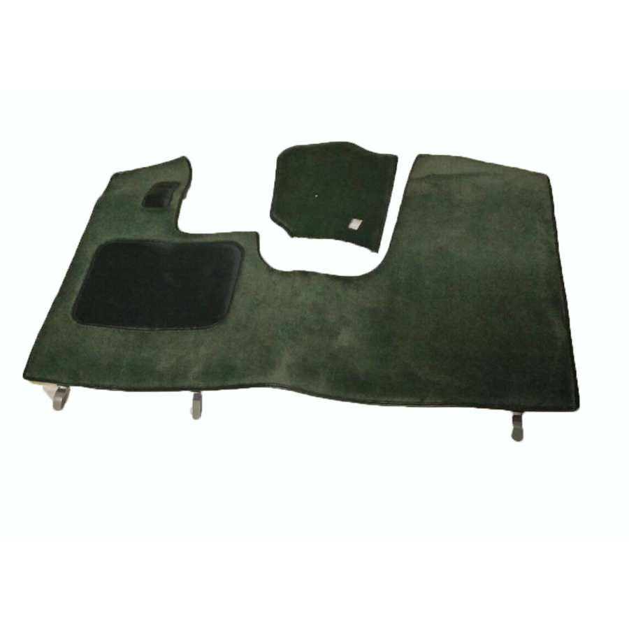 Front carpet green with foam Citroën ID/DS-6