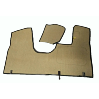 thumb-Bodenmatte vorne grün Originalreplikat (Pallas) mit Bezug für Pedalboden ohne Schaum Citroën ID/DS-1