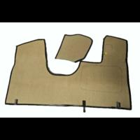 thumb-Bodenmatte vorne grün Originalreplikat (Pallas) mit Bezug für Pedalboden ohne Schaum Citroën ID/DS-2
