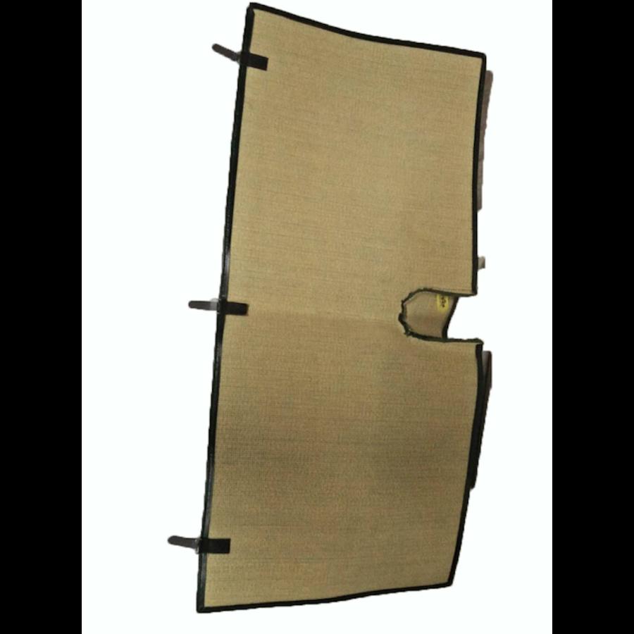 Bodenmatte hinten grün Originalreplikat (Pallas) ohne Schaum Citroën ID/DS-1