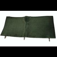 thumb-Bodenmatte hinten grün Originalreplikat (Pallas) ohne Schaum Citroën ID/DS-3