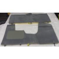 thumb-Vollständiger Bodenbezug Satz grau (mechanisch/hydraulisch/mit Einspritzung) mit Schaum Citroën ID/DS-1