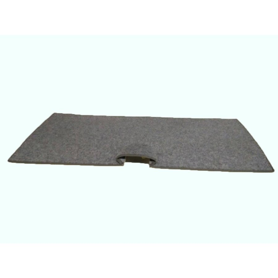 Rear carpet with foam for non-Pallas Citroën ID/DS-2