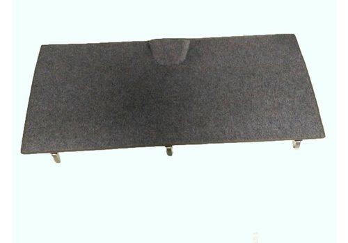 Rear carpet with foam for non-Pallas (70->) Citroën ID/DS