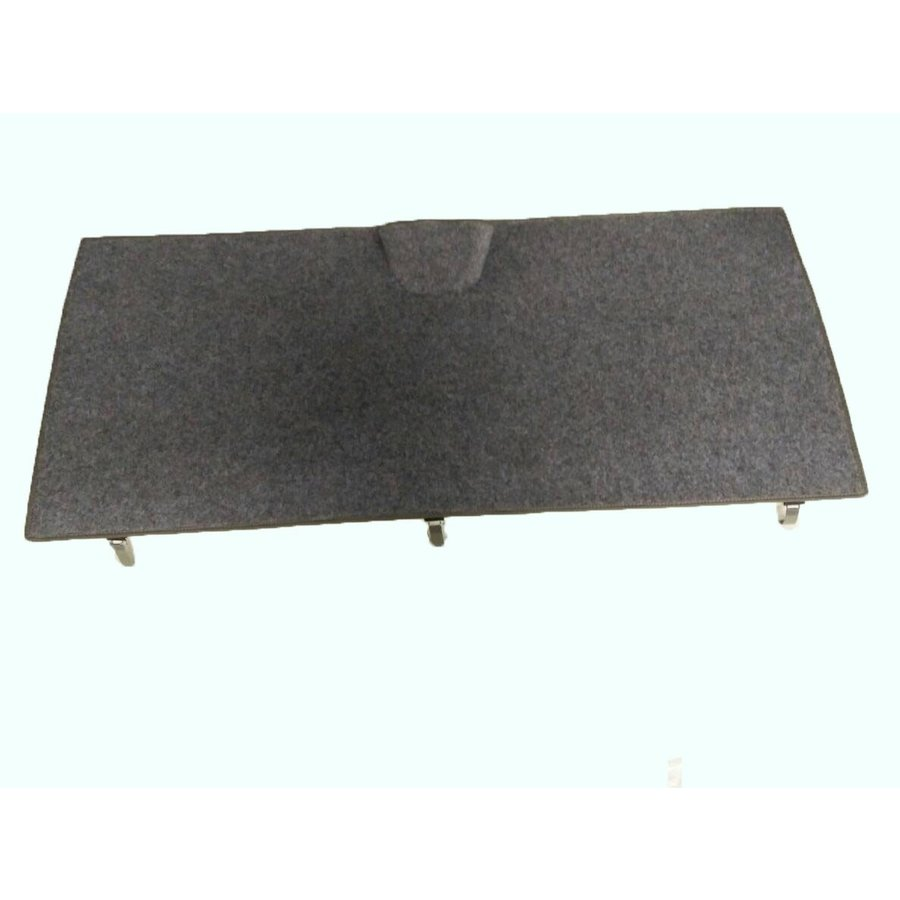 Rear carpet with foam for non-Pallas Citroën ID/DS-4
