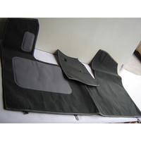 thumb-Bodenmatte vorne grau Originalreplikat (Pallas) mit Bezug für Pedalboden ohne Schaum Citroën ID/DS-1