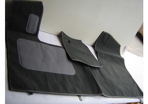 ID/DS Tapis AV gris production origine (PA) garniture de plancher de pédale inclus sans mousse Citroën ID/DS