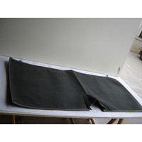 thumb-Bodenmatte hinten grauOriginalreplikat (Pallas) ohne Schaum Citroën ID/DS-2