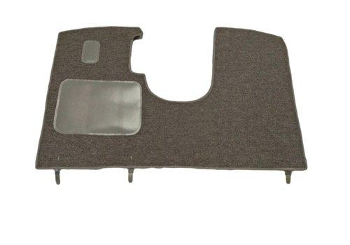 ID/DS Bodenmatte vorne grau für altes Modell <69 Originalproduktion (nicht Pallas mechanisch) mit Schaum Citroën ID/DS