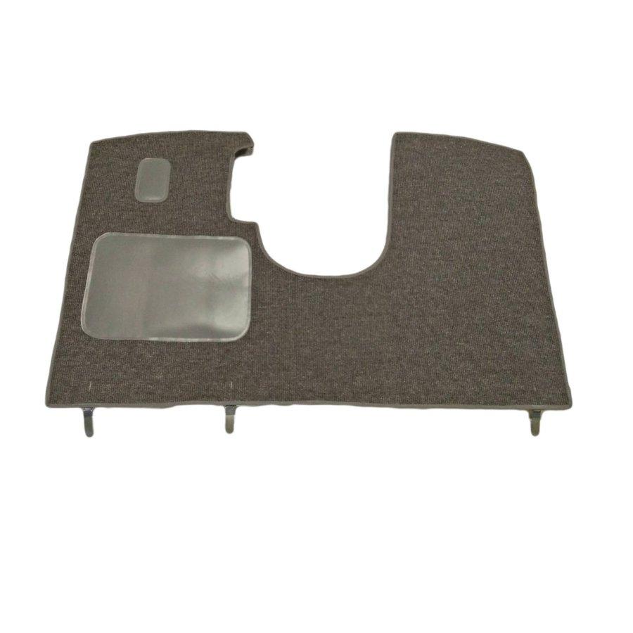 Bodenmatte vorne grau für altes Modell <69 Originalproduktion (nicht Pallas mechanisch) mit Schaum Citroën ID/DS-1