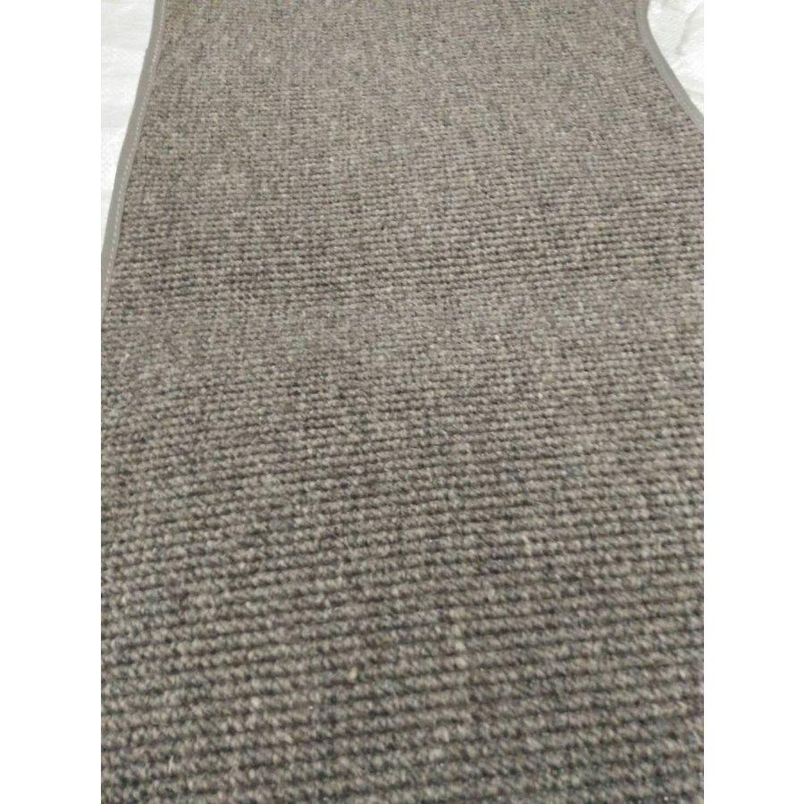 Bodenmatte vorne grau für altes Modell <69 Originalproduktion (nicht Pallas mechanisch) mit Schaum Citroën ID/DS-2