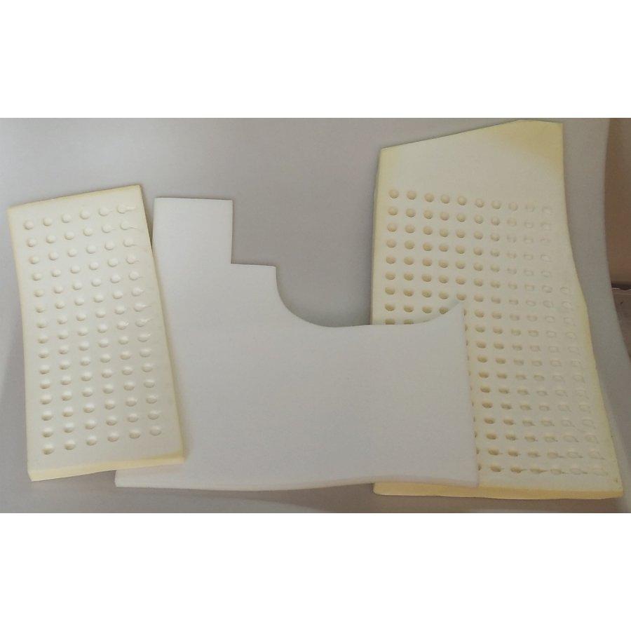Set of foam pieces for under front mat Citroën ID/DS-3
