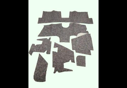 Noise reduction pad set used under the Pallas carpet set (7 pieces) Citroën ID/DS