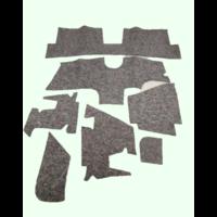 thumb-Noise reduction pad set used under the Pallas carpet set (7 pieces) Citroën ID/DS-2