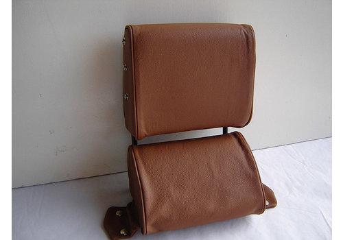 ID/DS Head rest with light brown leather trimming narrow model 2 pieces Citroën ID/DS