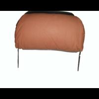 thumb-Repose-tête pour modèle ancien en forme de sac (1 pièce modèle large) garniture cuir tabac Citroën ID/DS-3