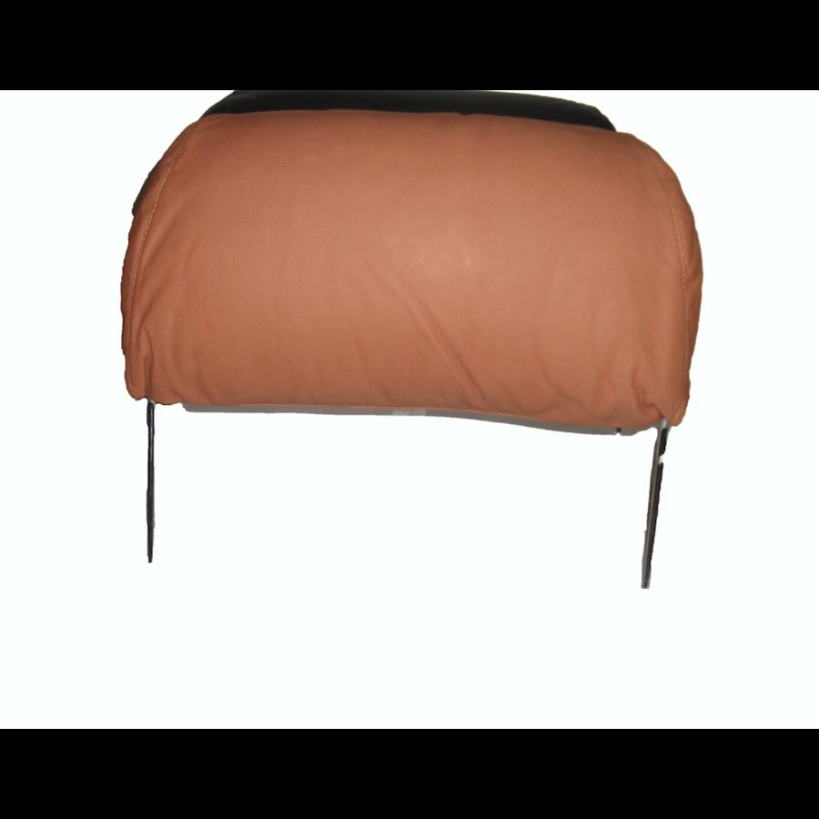 Repose-tête pour modèle ancien en forme de sac (1 pièce modèle large) garniture cuir tabac Citroën ID/DS-4