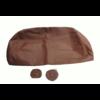 ID/DS Bezug für Kopfstütze für altes Modell (1 teilig) sackförmig Leder tabakfarben Citroën ID/DS