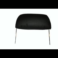 thumb-Kopfstütze für altes Modell (1 teilig) sackförmig Leder schwarz Citroën ID/DS-2