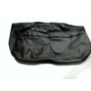 ID/DS Bezug für Kopfstütze für altes Modell (1 teilig) sackförmig Leder schwarz Citroën ID/DS