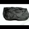 ID/DS Hoofdsteunhoes zakvormig breed zwart leer Citroën ID/DS