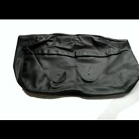 thumb-Hoofdsteunhoes zakvormig breed zwart leer Citroën ID/DS-1