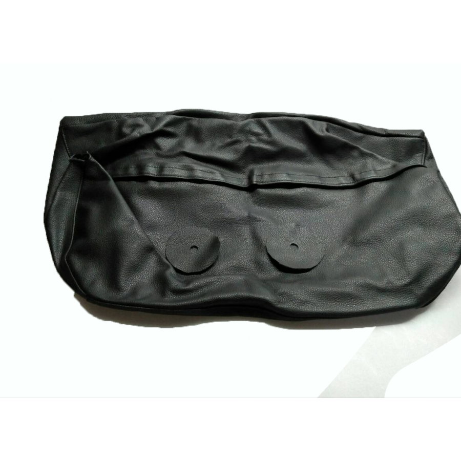 Head rest cover with black leather trimming for old types (bag shape) wide model 1 pieces Citroën ID/DS-1