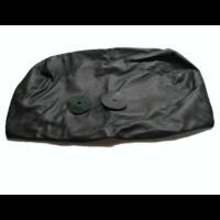 thumb-Bezug für Kopfstütze für altes Modell (1 teilig) sackförmig Leder schwarz Citroën ID/DS-3