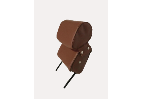 ID/DS Head rest with brown leatherette trimming narrow model 2 pieces Citroën ID/DS