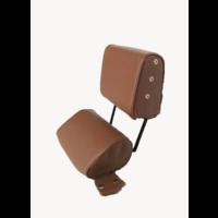 thumb-Kopfstütze (2 teilig) Kunstleder dunkelbraun schmales Modell Citroën ID/DS-3