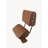 thumb-Head rest with brown leatherette trimming narrow model 2 pieces Citroën ID/DS-4