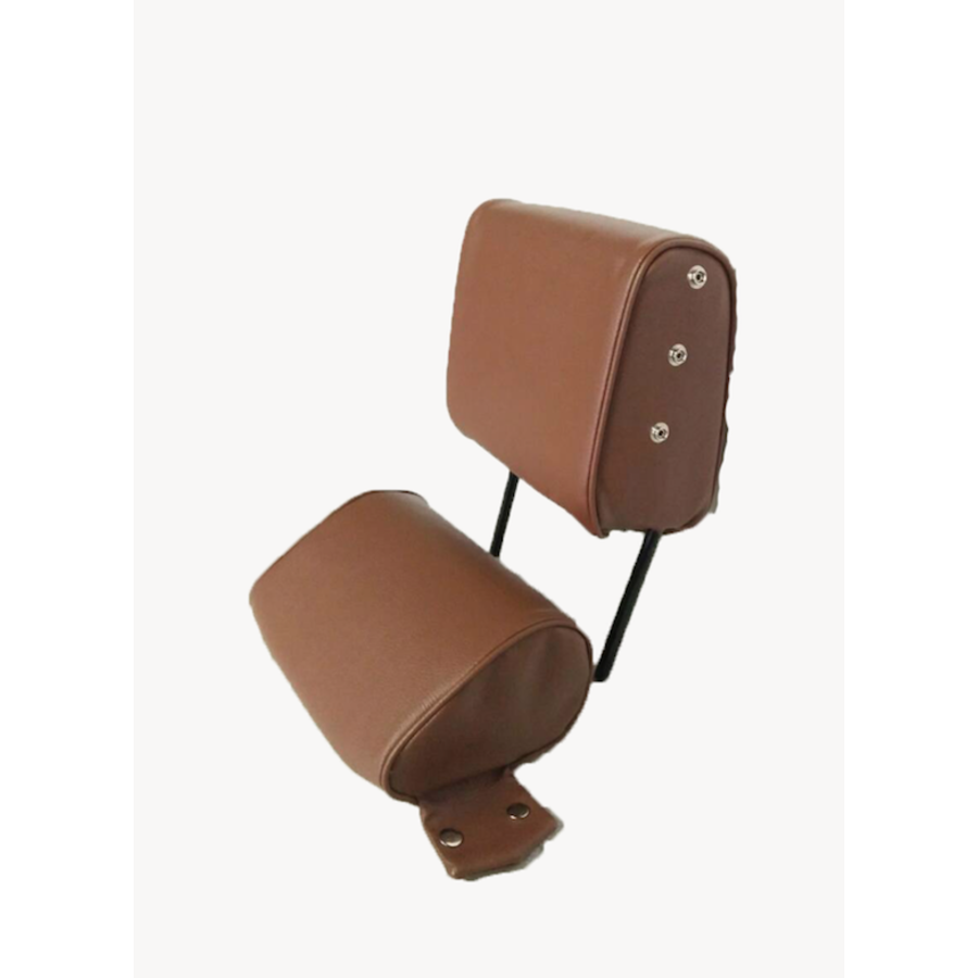 Head rest with brown leatherette trimming narrow model 2 pieces Citroën ID/DS-4